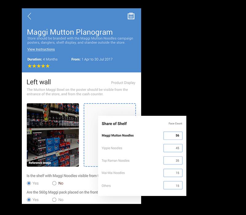Mobile App for Visual Merchandisers | Most configurable VM