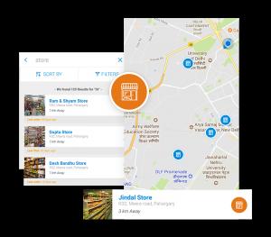 customer gps location map