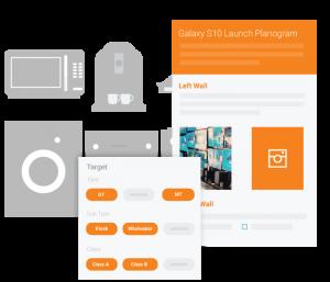 visual merchandising auditing survey app