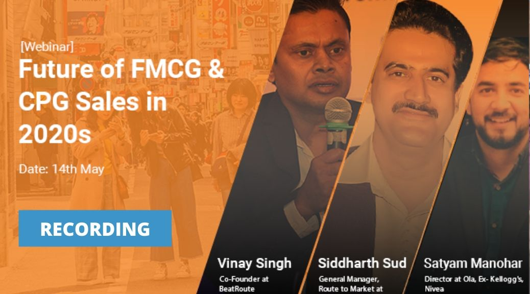 Future of FMCG & CPG Sales in 2020s sales tracking software