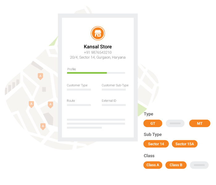 BeatRoute Sales Force Tracking App Retailer Profiling in FMCG & Consumer Goods industry