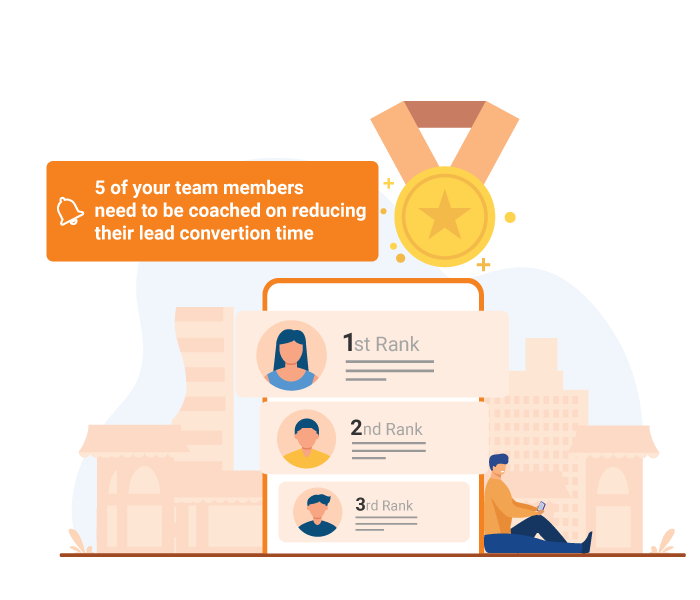 Sales Force Automation Software with Gamification